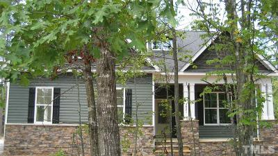 Granville County Single Family Home For Sale: 3821 Watermark Drive #Lot 122
