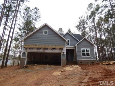 Granville County Single Family Home For Sale: 3714 Sapphire Court