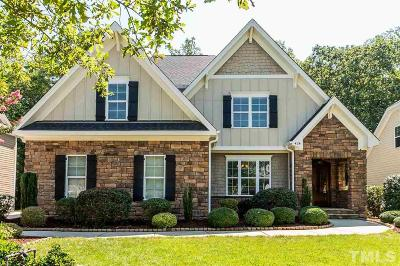 Holly Springs Single Family Home For Sale: 424 Wanderview Lane