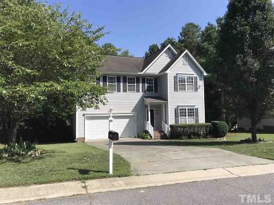 Wake Forest Single Family Home For Sale: 8608 Bratt Avenue