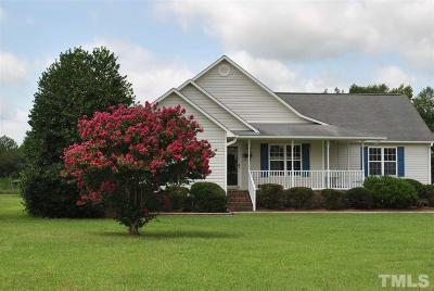 Johnston County Single Family Home For Sale: 13771 Nc 39 Highway