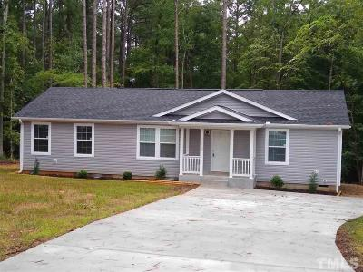 Louisburg Single Family Home For Sale: 107 Osage Drive