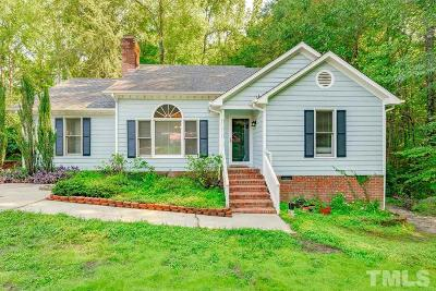 Raleigh Single Family Home Contingent: 2105 Virginia Dare Place