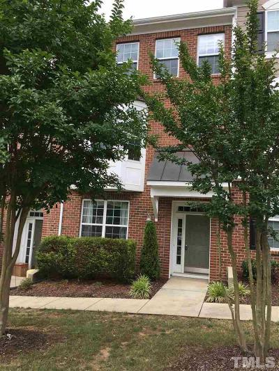 Holly Springs Townhouse For Sale: 6005 Kentworth Drive
