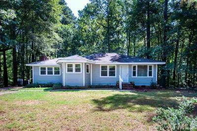 Wake County Single Family Home Contingent: 11124 Crestmont Drive