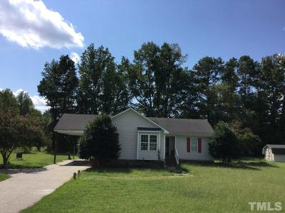 Nash County Single Family Home For Sale: 3406 Clear Creek Road