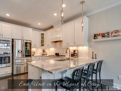Cary Townhouse For Sale: 504 Warrior Woods Loop
