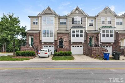 Raleigh Townhouse For Sale: 4505 Pale Moss Drive