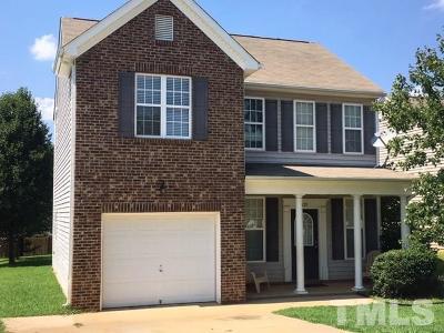 Johnston County Rental For Rent: 121 Hutson Lane