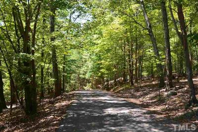 Chatham County Residential Lots & Land For Sale: Lot 63 Wolf Hollow Lane