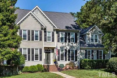 Cary Single Family Home Contingent: 237 Parkgate Drive