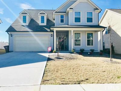 Wake Forest Single Family Home For Sale: 2424 Cedar Rock Drive