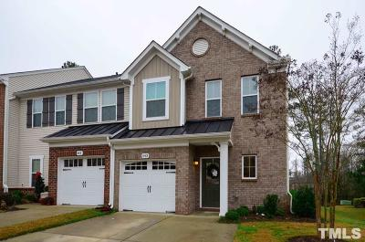 Cary Townhouse For Sale: 443 Panorama View Loop