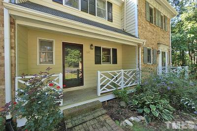 Raleigh, Cary Townhouse Contingent: 107 Briarcreek Court