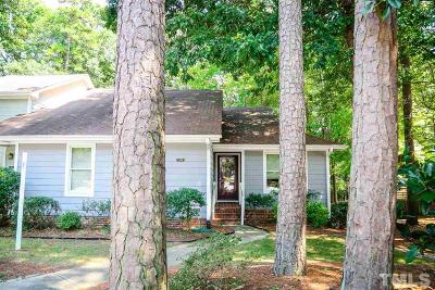 Raleigh, Cary Townhouse Pending: 1520 Edgeside Court