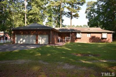 Zebulon Single Family Home For Sale: 3620 Rosinburg Road