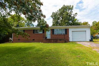 Granville County Single Family Home Pending: 309 28th Street