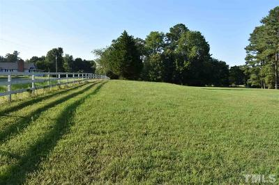 Zebulon Residential Lots & Land For Sale: Lot # 5 Rosinburg Road