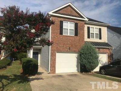 Raleigh Townhouse For Sale: 2201 Thornblade Drive
