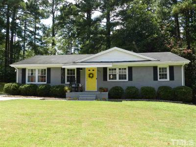 Clayton Single Family Home Pending: 907 Pond Street