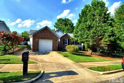 Raleigh Single Family Home For Sale: 5309 Bentgrass Drive