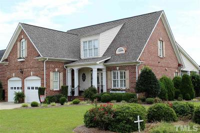 Benson Single Family Home For Sale: 106 Colonade Court