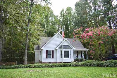 Fuquay Varina Single Family Home Contingent: 3321 Lorena Lynn Court