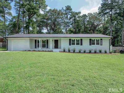 Wake County Single Family Home For Sale: 4908 Vallery Place