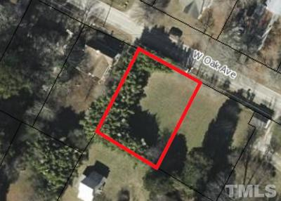 Wake Forest Residential Lots & Land For Sale: 125 W Oak Avenue