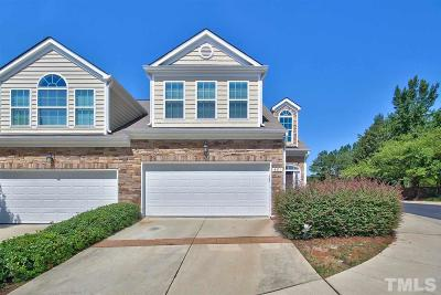 Raleigh, Cary Townhouse For Sale: 851 Swan Neck Lane
