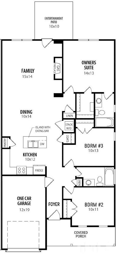 Johnston County Townhouse Contingent: 270 Cullen Court