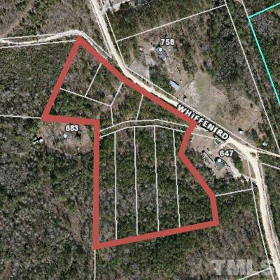 Harnett County Residential Lots & Land For Sale: Whiffen Road