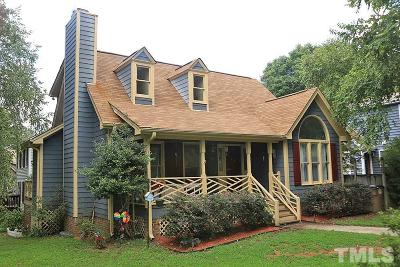 Wake Forest Single Family Home For Sale: 646 Tyler Run