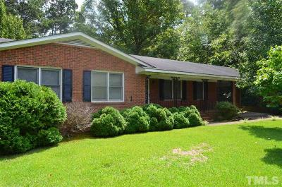 Sampson County Single Family Home For Sale: 1104 Old Goldsboro Road