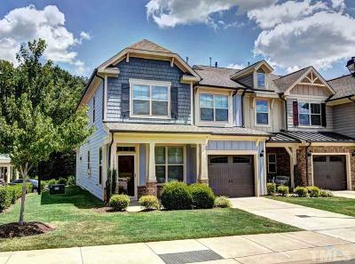 Raleigh, Cary Townhouse For Sale: 12660 Gallant Place