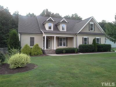 Franklinton Single Family Home Contingent: 1709 Creekview Drive