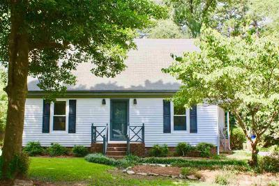 Wake County Single Family Home For Sale: 5201 Badham Place