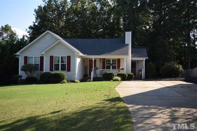 Johnston County Rental For Rent: 138 Lily Crossing Drive