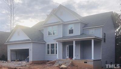 Franklinton Single Family Home Pending: 25 Point View Way #Lot 723