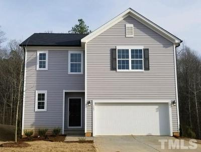 Clayton Single Family Home For Sale: 187 Pamlico Drive