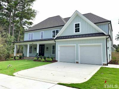 Wake County Single Family Home For Sale: 3504 Blue Ridge Road