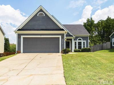 Wake County Single Family Home Pending: 9516 Treymore Drive