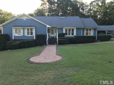 Knightdale Single Family Home Pending: 105 Pair Street