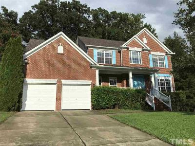 Wake County Single Family Home For Sale: 210 Glebe Way