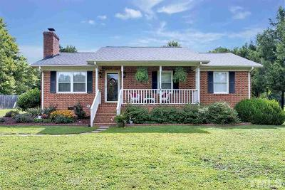 Rougemont Single Family Home Pending: 6904 Kiger Road