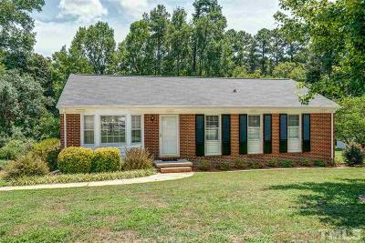 Raleigh Single Family Home For Sale: 3632 Cove Drive
