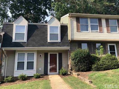Raleigh, Cary Townhouse For Sale: 4208 Sterlingworth Drive