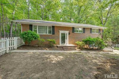 Durham Single Family Home For Sale: 2900 Beech Grove Drive