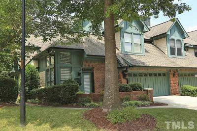 Raleigh, Cary Townhouse For Sale: 8115 Lloyd Allyns Way