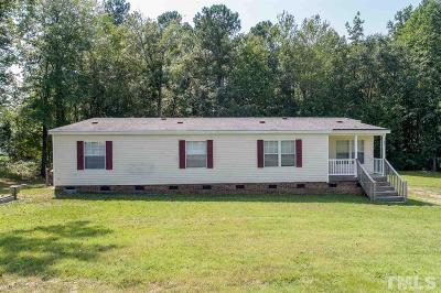 Johnston County Manufactured Home For Sale: 134 Pricket Lane